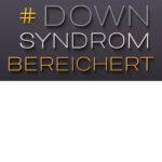 Logo der Initiative Down-Syndrom bereichert