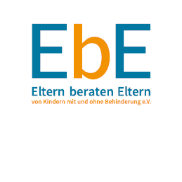Logo des EbE, Eltern beraten Eltern von Kindern mit und ohne Behinderung e.V.