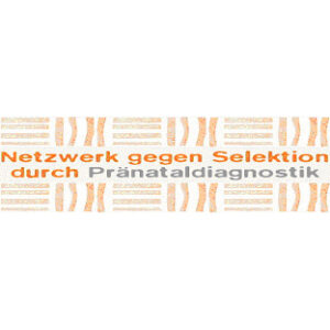 Logo des Netzwerks gegen Selektion durch Pränataldiagnostik.